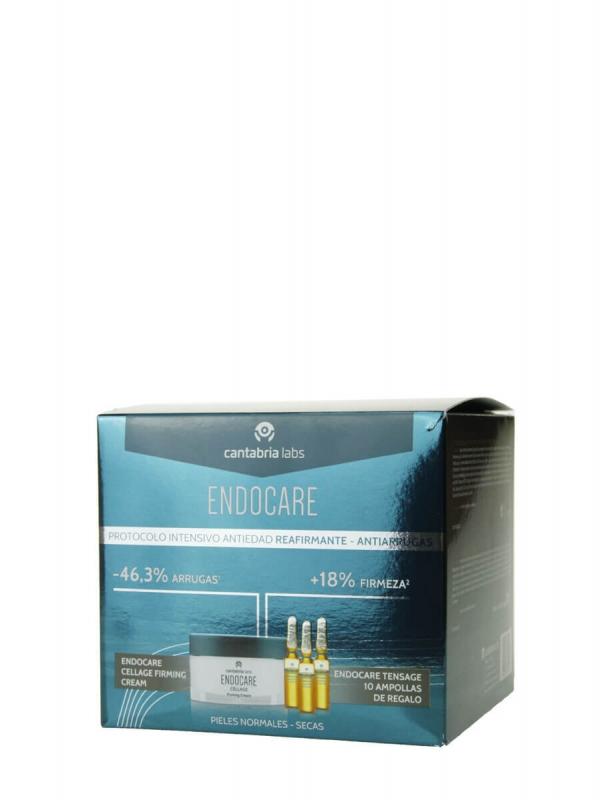 Endocare pack cellage cream 50ml + tensage 10 ampollas