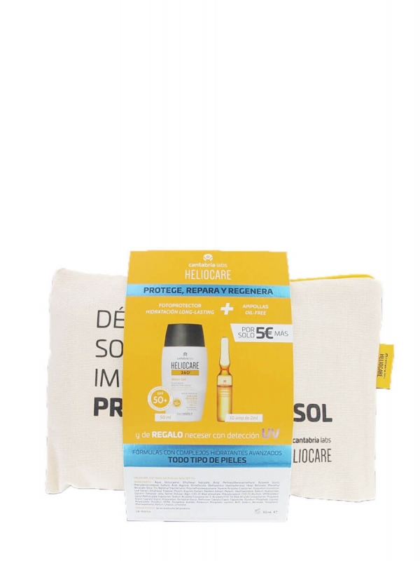 Heliocare pack heliocare water gel + endocare c oil free