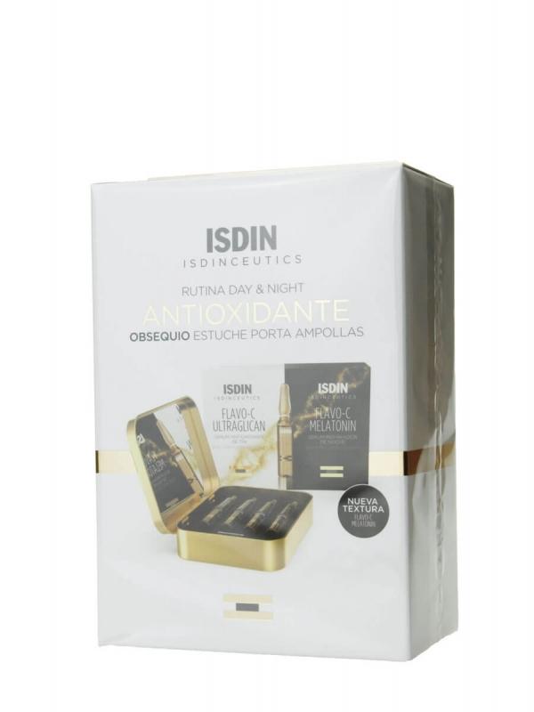 Isdin isdinceutics pack antioxidante caja dorada