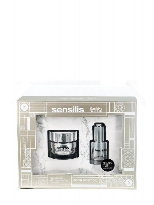 Sensilis pack origin pro egf-5 crema + elixir