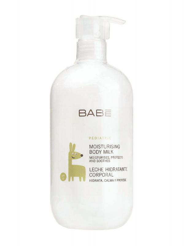Babé leche hidratante corporal pediátrica 500 ml