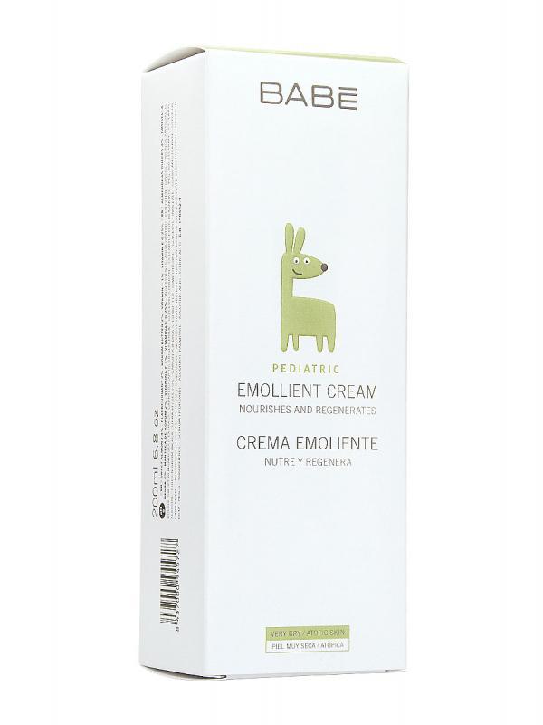 Babe crema pediátrica emoliente, 200 ml