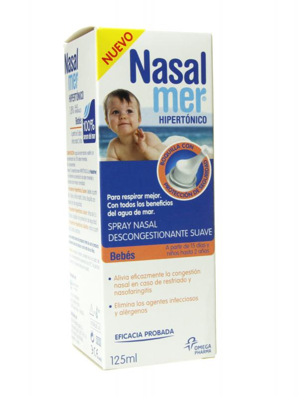 Nasalmer spray nasal hipertónico suave 125 ml