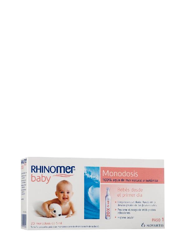 Rhinomer monodosis 20 unidades 5 ml
