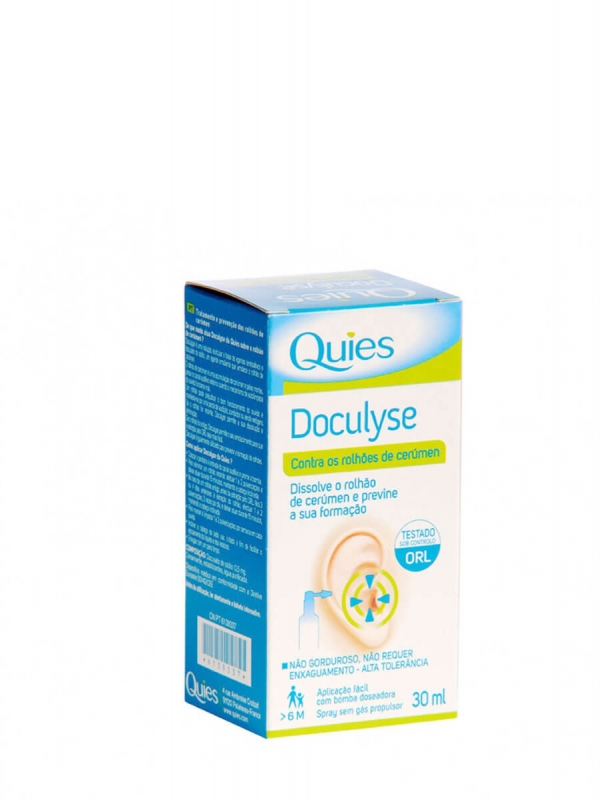 Deiters quies doculyse higiene conducto auditivo 30 ml