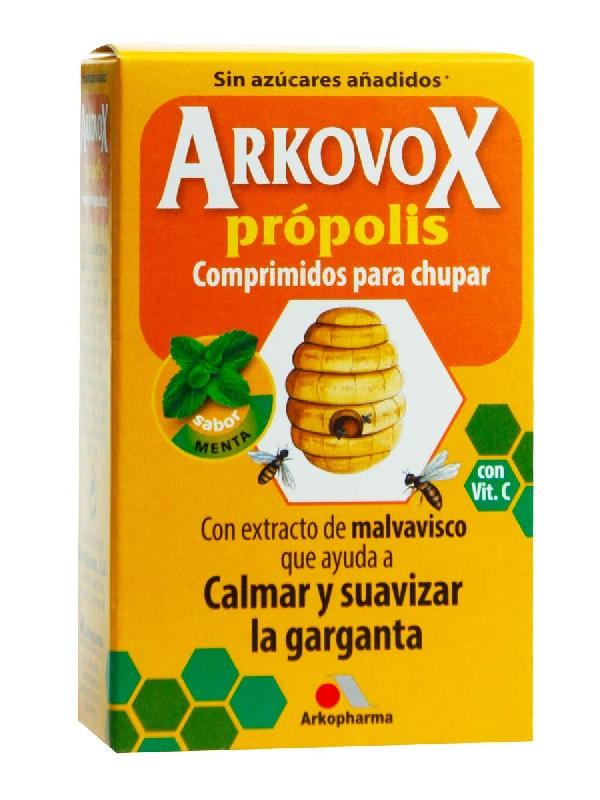 Arkovox propolis + vit c  20 comprimidos menta