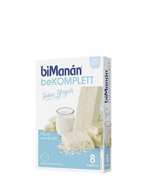 Bimanán bekomplett barritas de yogur, 8 unidades