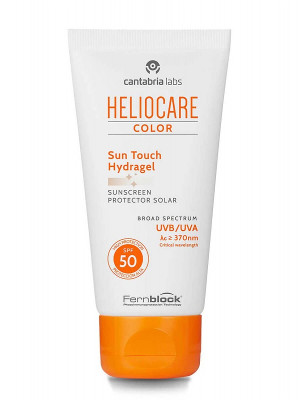 Heliocare color sun touch hydragel spf 50, 50 ml