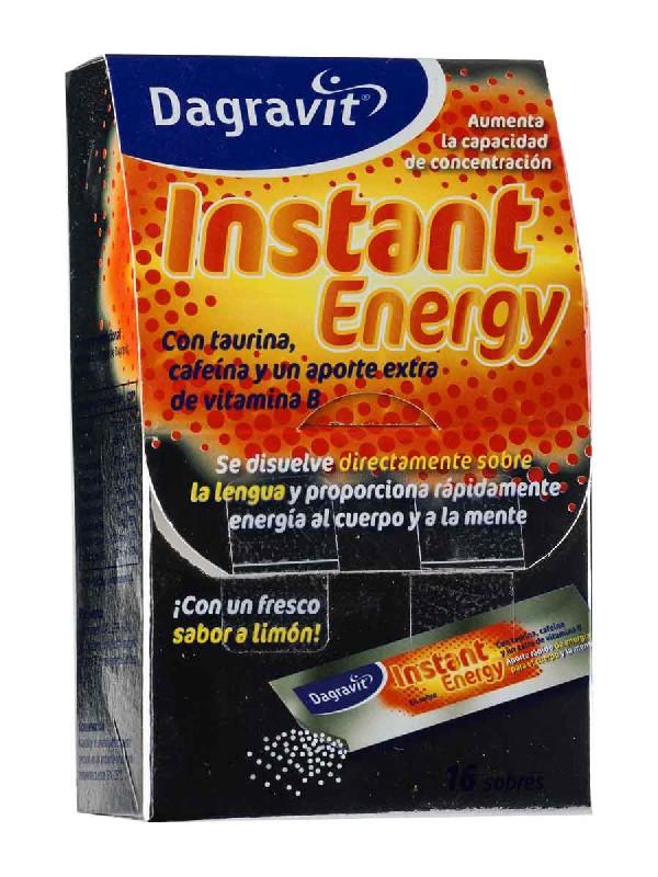 Dagravit instant energy 16 sobres granulados