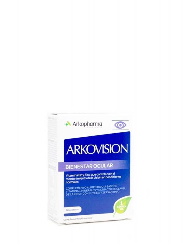 Arkopharma arkovision vitaminas bienestar ocular 30 cápsulas