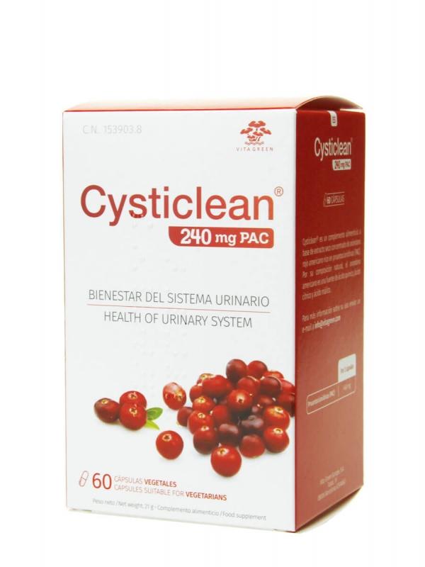 Cysticlean 240 mg pac 60 cápsulas