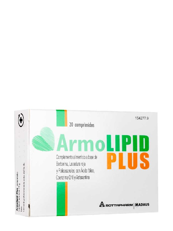 Armolipid plus, 20 comprimidos