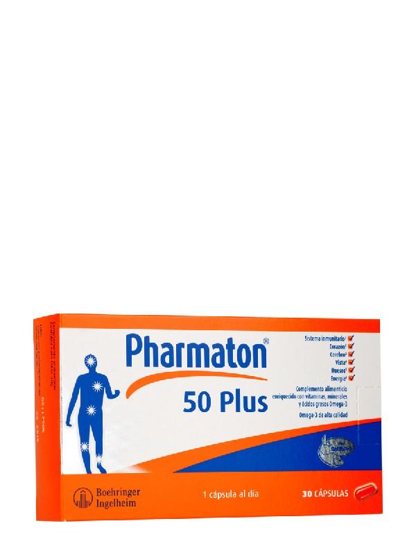 Pharmaton 50 plus 30 capsulas