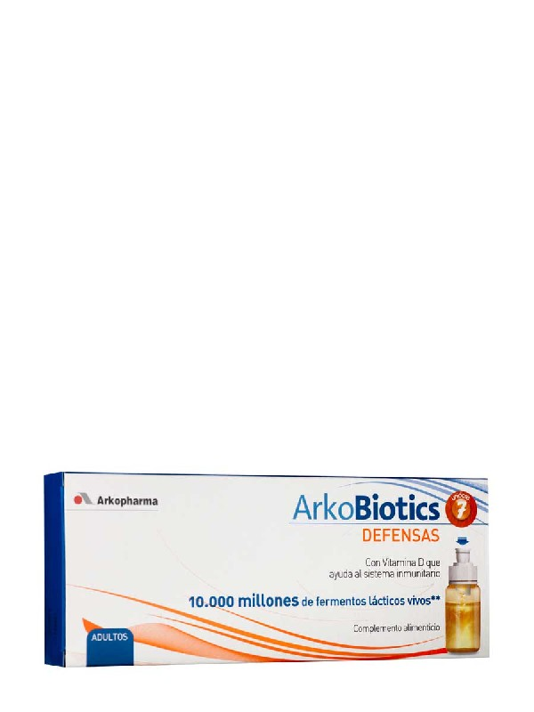 Arkoprobiotic defensas adulto, 7 viales
