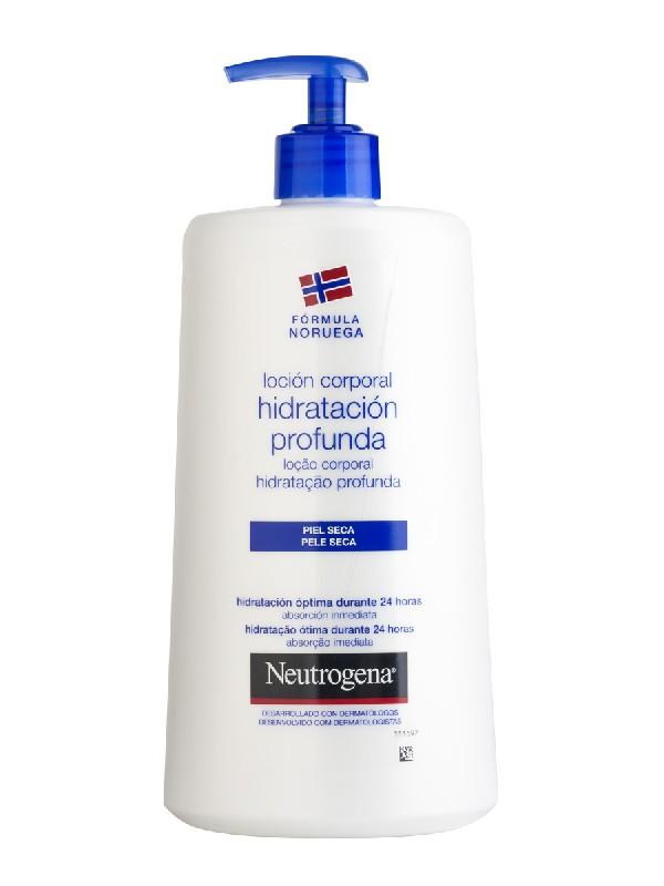 Neutrogena loción corporal hidratación profunda piel seca 750 ml