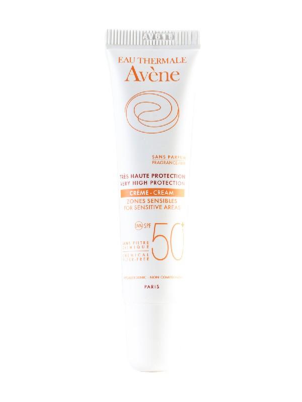 Avène crema zonas sensibles spf 50 15 ml
