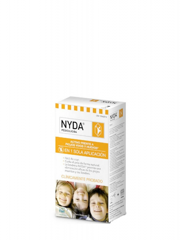 Nyda pulverizador antipiojos 50 ml