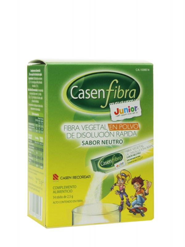 Casenfibra junior sabor neutro 14 sobres 2.5 g