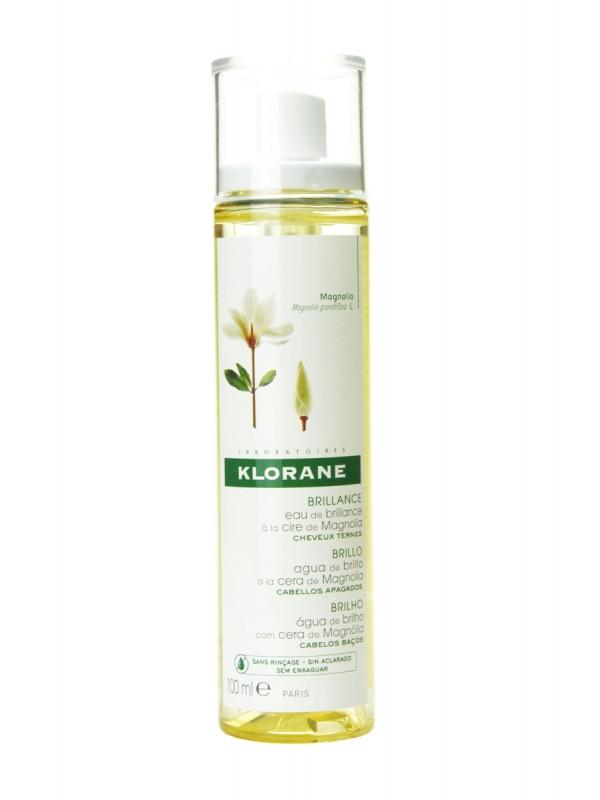 Klorane agua de brillo a la cera de magnolia 100 ml