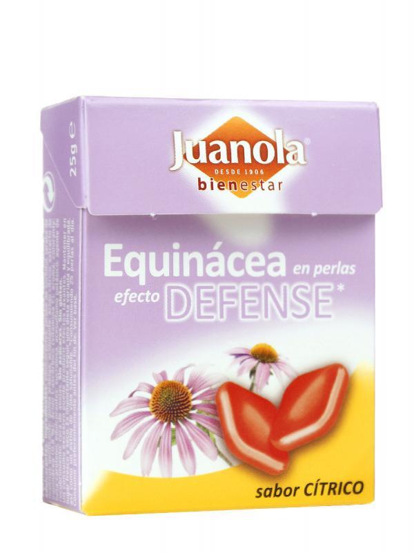 Juanola perlas de equinacea sabor cítrico