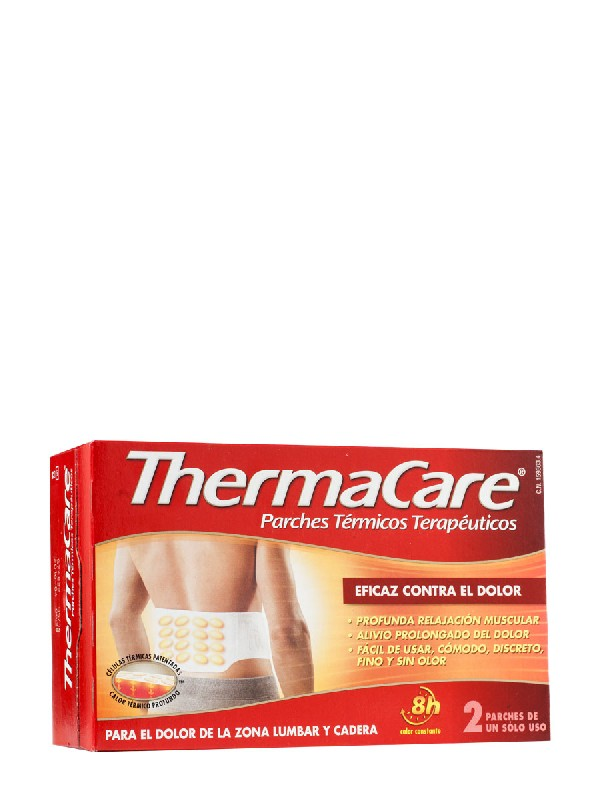 Thermacare parches lumbar 2 unidades