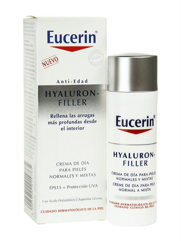 Eucerin antiedad hyaluron fyller piel normal