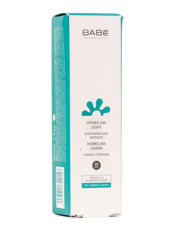 Babe emulsión hidratante spf 10,  50 ml