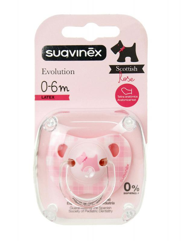 Suavinex chupete rosa evolution liberty