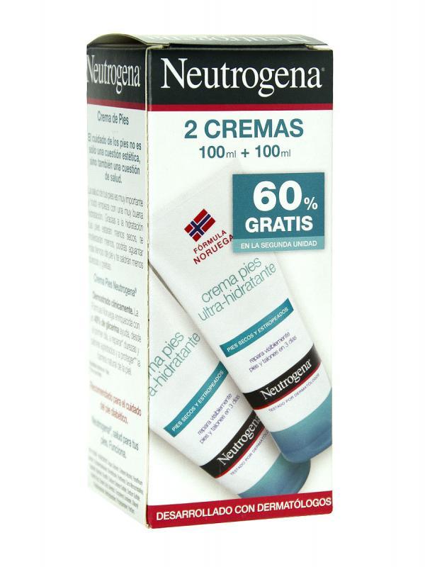 Neutrogena pies secos duplo 2x100 ml