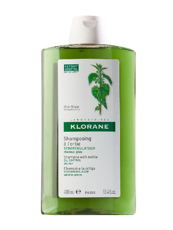 Klorane champu extracto de ortiga seborregulador 400ml