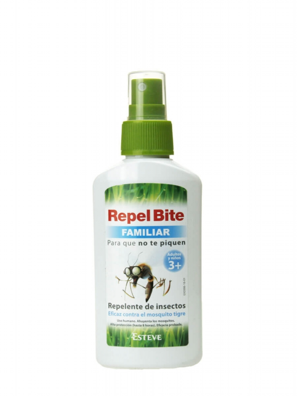 Repel bite repelente de insectos familiar 100 ml