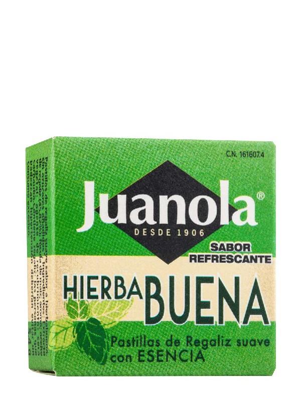 Juanola pastillas con esencia de hierbabuena