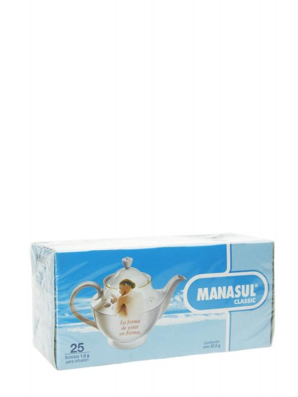 Manasul classic 25 bolsitas para infusión