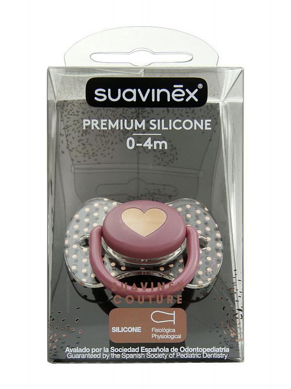 Suavinex chupete haute couture t fisiologica silicona