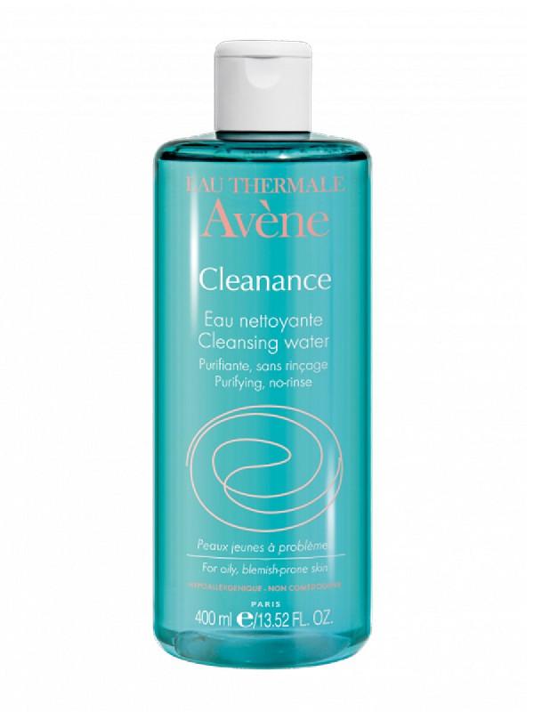 Agua limpiadora purificante avène cleanance, 400ml