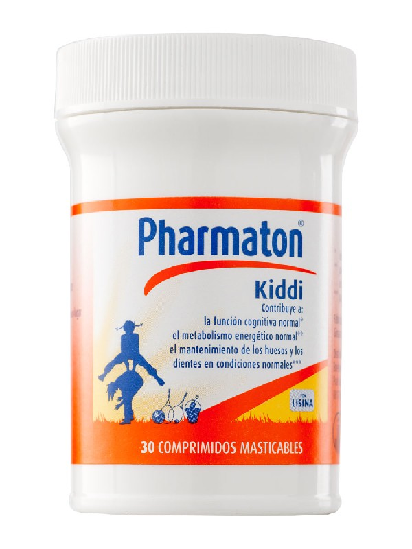 Pharmaton kiddi 30 comprimidos