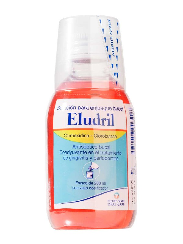 Eludril colutorio clorhexidina 200ml