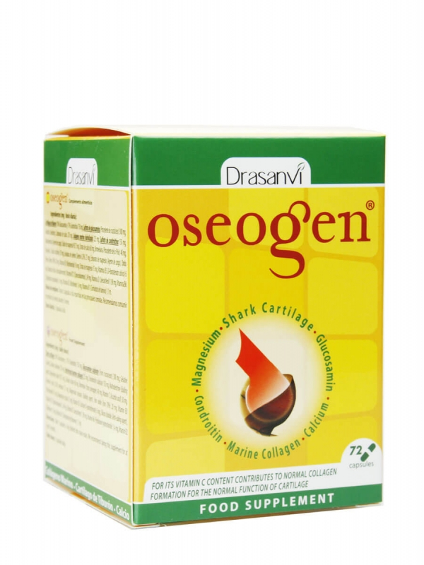 Oseogen 72 cápsulas