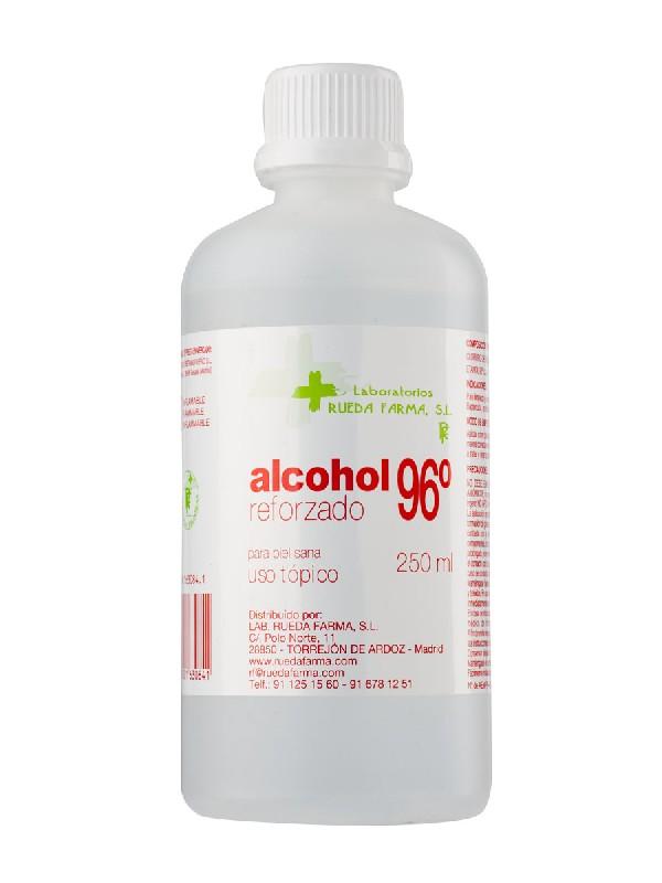 Rueda farma  alcohol 96º 250 ml