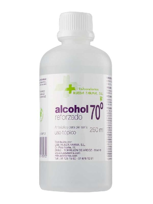 Rueda farma  alcohol 70º 250 ml