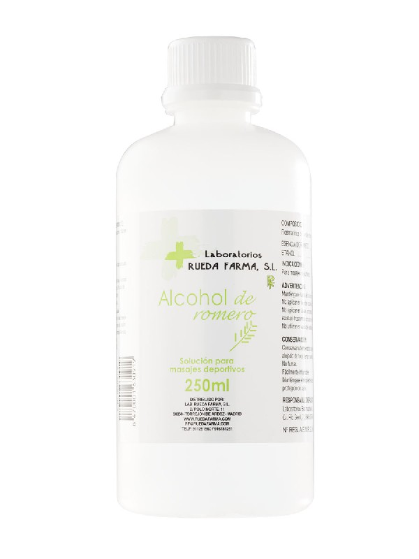 Reuda farma alcohol de romero 250 ml