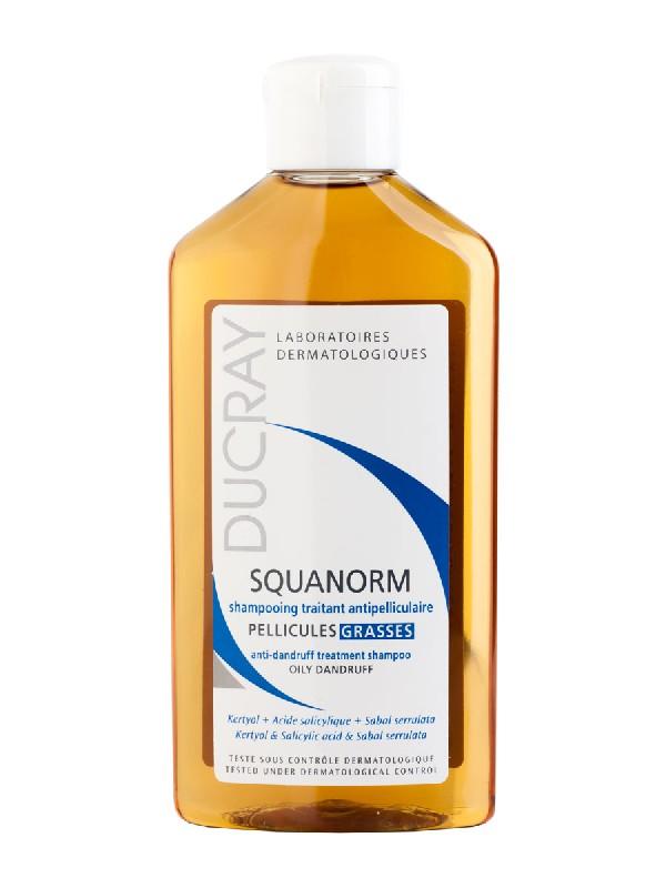 Squanorm champú 200 ml ducray caspa grasa