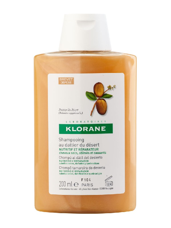 Klorane champu datil desierto 200 ml