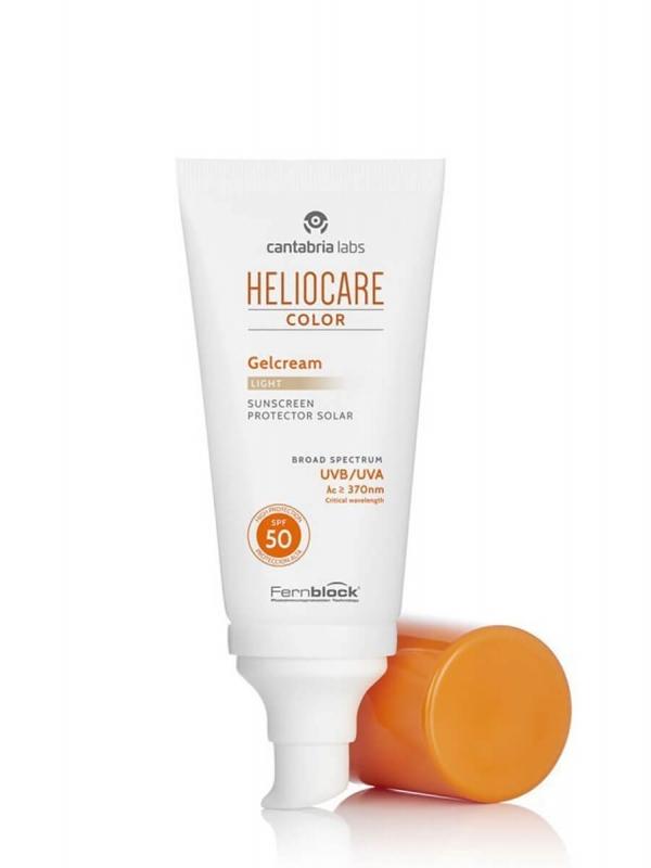 Heliocare gel crema color light spf 50 50 ml