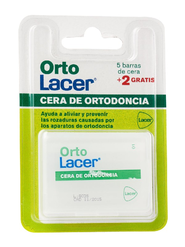 Lacer ortolacer cera de ortodoncia