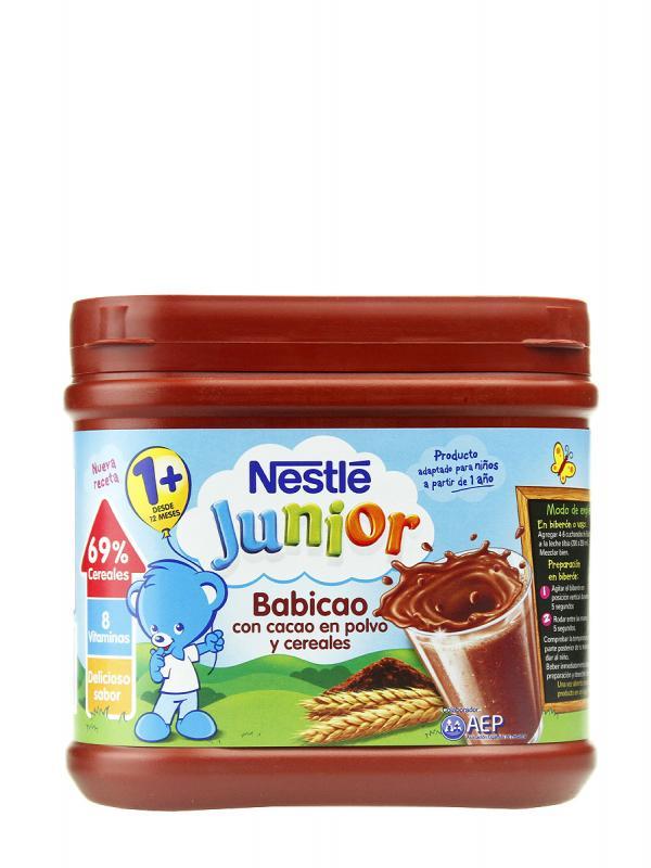 Nestle junior babicao chocolate 400 gr