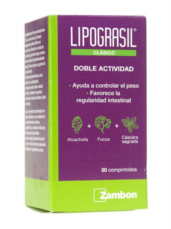 Lipograsil ® clásico plan activa 50 comprimidos