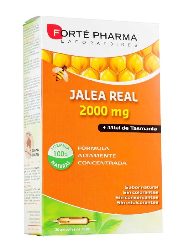 Forte pharma jalea real 200mg 20 ampollas