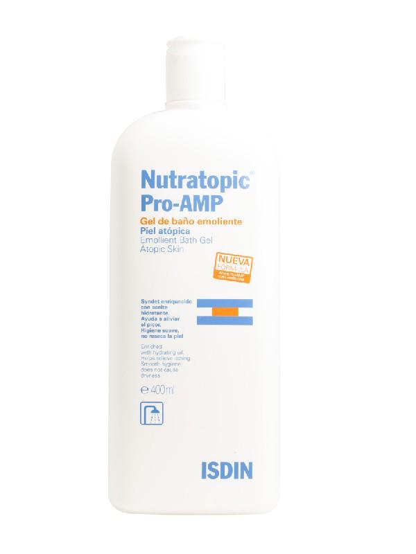 Isdin nutratopic pro-amp gel de baño piel atópica 400 ml