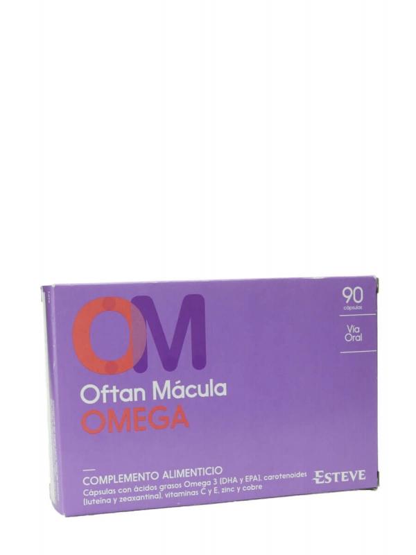 Oftan mácula omega 90 cápsulas